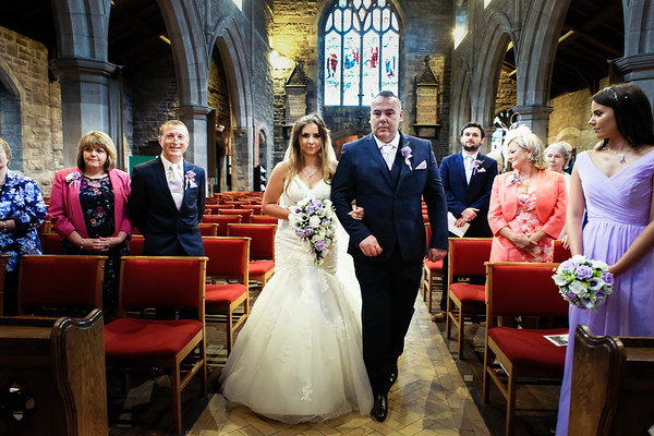 St John Thornham Church - Manchester Golf Club Wedding Photography - Amy and Ryan