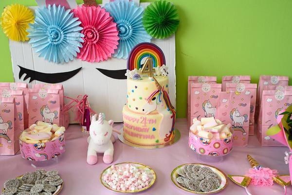 Valentina's 4th birthday