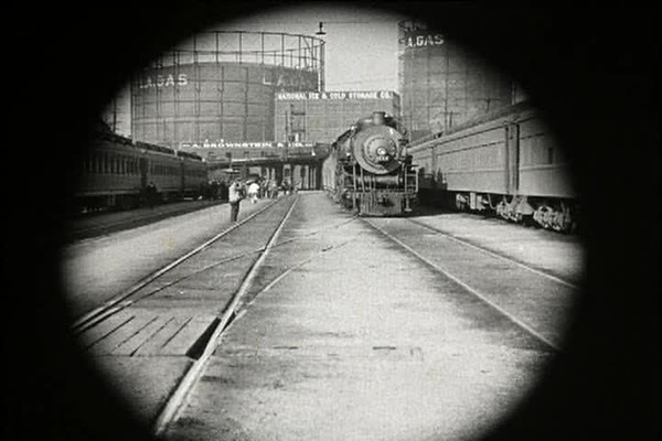 1924, Girl Shy - Train Station