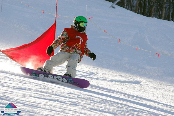 Snowboard Race Jan. 10th -Smugglers' Notch