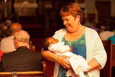 Nii Noi's Baptism - June 1, 2014