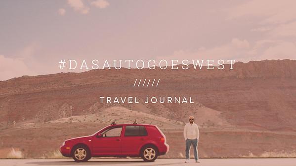 #DASAUTOGOESWEST ////// TRAVEL JOURNAL
