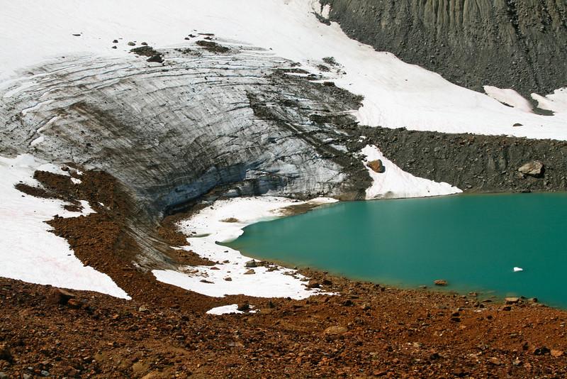 Lyman glacier.