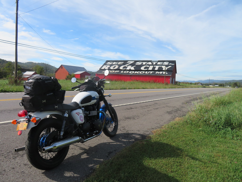 See Rock City Bar and my Triumph Bonneville