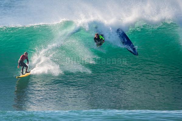 Tom Curren skimboard session @ Hossegor