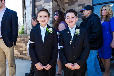 Jake's Communion April 4th 2015