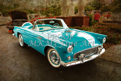 1956 Ford Thunderbird Photographic Prints