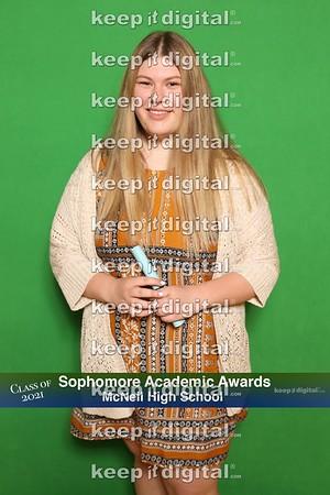 McNeil Soph Academic Award 2019
