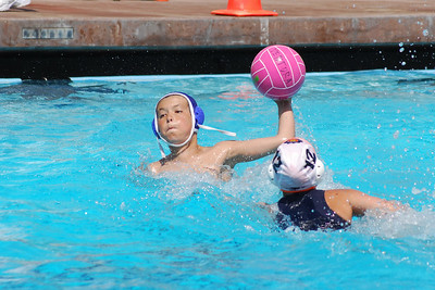 "Ventura League Spring 2009 Final Tourney -  12U Coed Championship Game - Santa Barbara Water Polo Club Boys ""A"" vs Ventura County Premier Coed 4/26/09. SBWPC vs VCP. Photos by Allen Lorentzen."