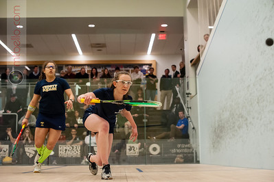 2014-03-01 Kanzy El Defrawy (Trinity) and Millie Tomlinson (Yale)