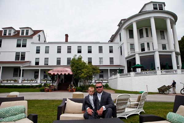 Island House Hotel Wedding Photography Mackinac Island Kelly + Kevin
