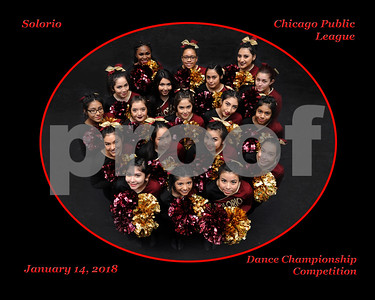 Whitney Young Cheer Championship 14Jan2018