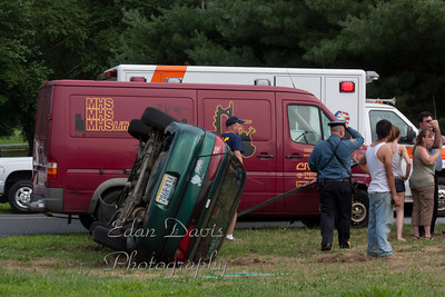 July 11, 2011, MVC, Pittsgrove Twp. Salem County, Parvins Mill Rd. and Garden Rd.