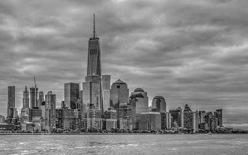 NYC - a cloudy day