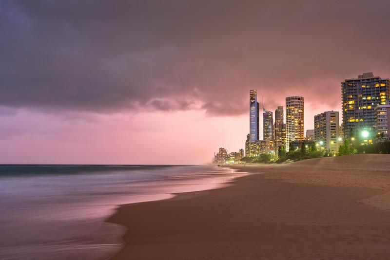 Dramatic Light Gold Coast Beach.jpg