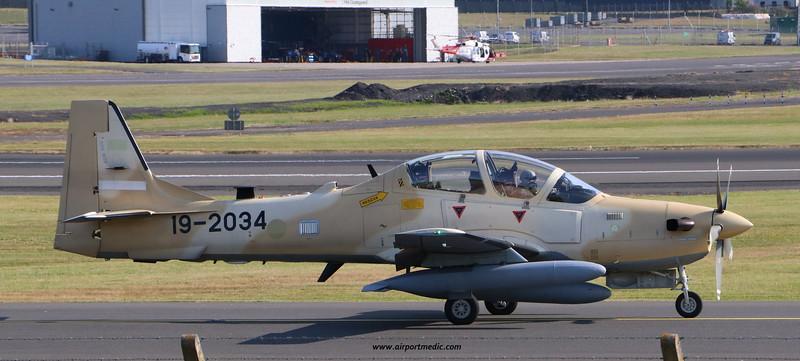 19-2034 A29 EMB314 Super Tucano Nigerian AF