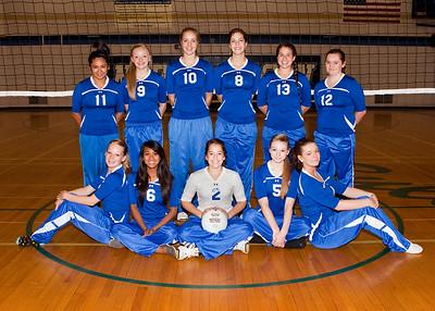 09-10-13 North Mason Volleyball group shots