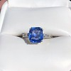 Vintage-Inspired and Contemporary 3.03ct Blue Sapphire Ring (GIA, No-Heat)) 15