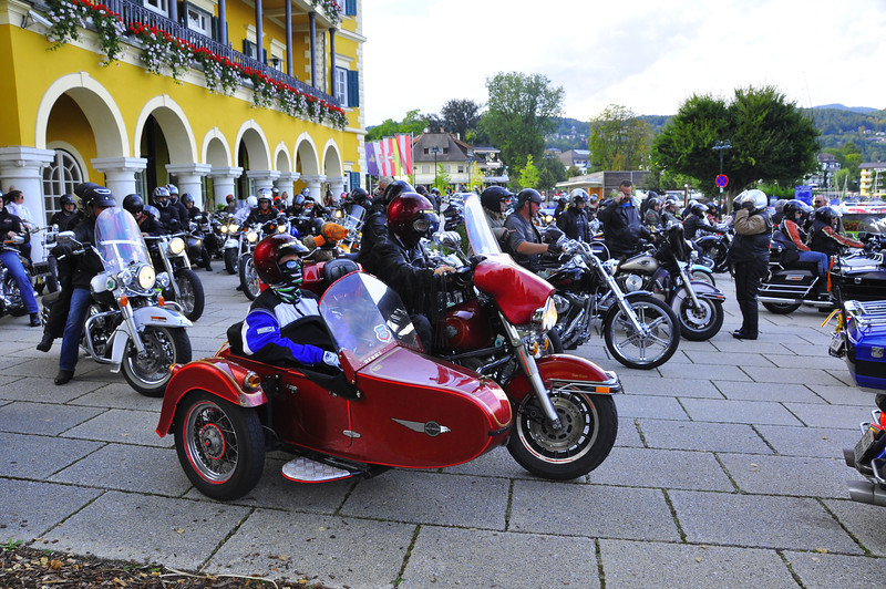 European Harley Week continues in Velden