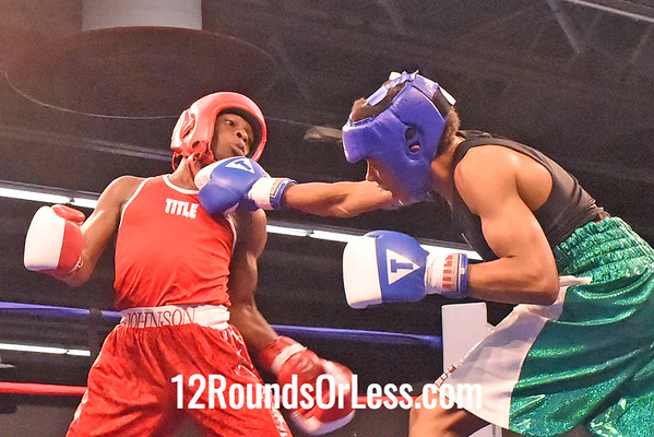 Bout 8 Ronell Johnson, Red Gloves, Columbus -vs- Dustin Hopkins, Blue Gloves, NY, 114 lbs