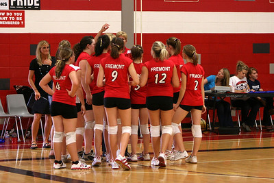 Girls Freshman Volleyball - 9/8/2009 Ludington
