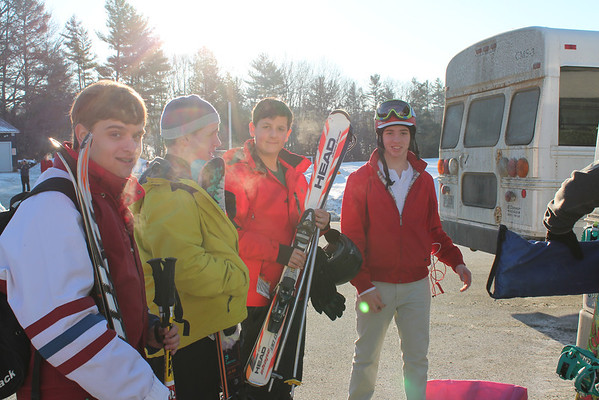 Senior Ski Holiday Departure