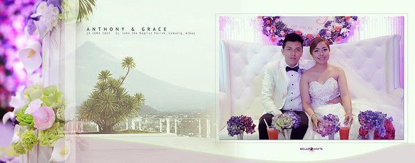 Anthony ♥ Grace Wedding | Storybook 11X14