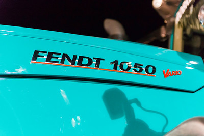 Fotoreportage te Geetbets in Kasteel van Hoen. Voorstelling van de Fendt 1050 Vario aangekocht door Rob Kempeneers