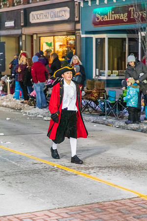 Santa Claus Parade Belleville Ontario 2018 November 18