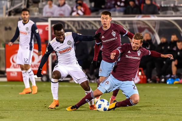 Colorado Rapids vs Philadelphia Union - MLS Soccer - 2018-03-31