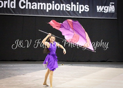 Walled Lake Winter Guard