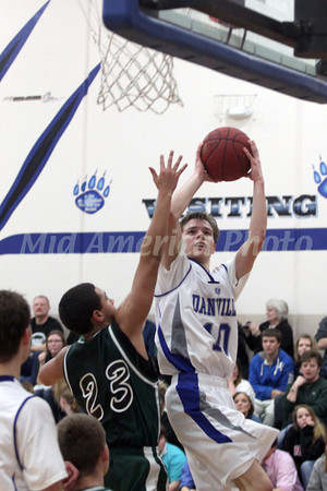 Boys Basketball, West Burlington vs Danville 2/2/2012