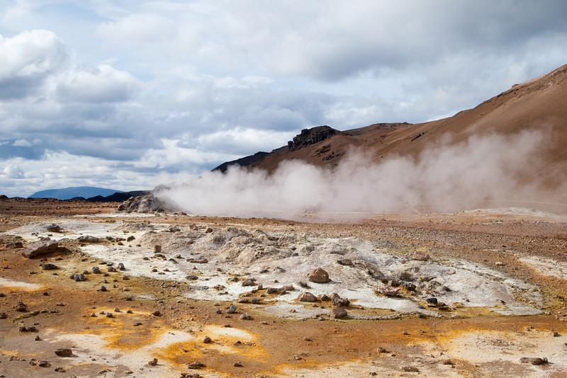 Imagine an overwhelming smell of sulphur