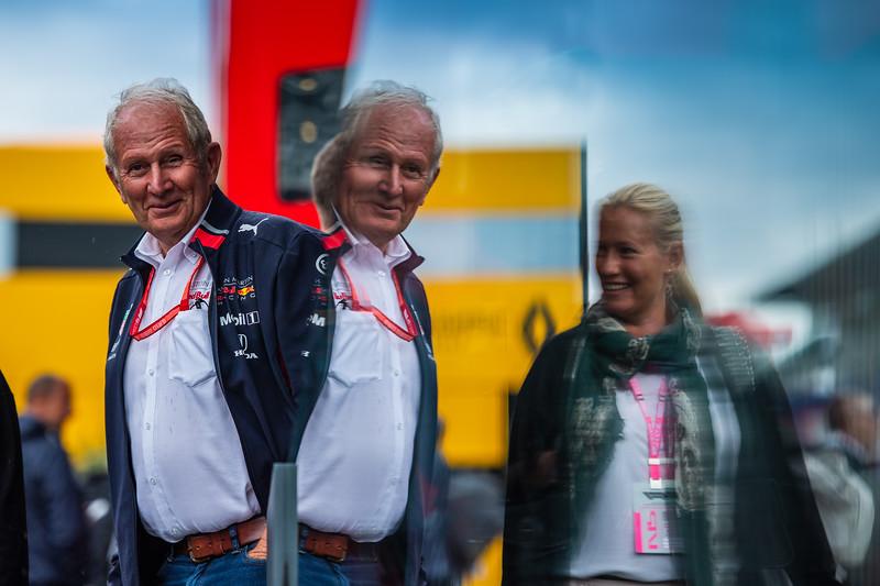 Helmut Marko, Aston Martin Red Bull Racing, Italy, 2019