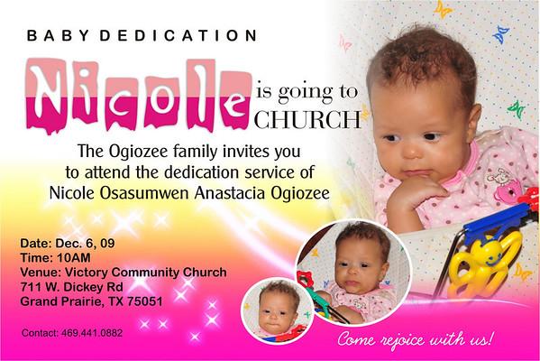 Nicole Dedication