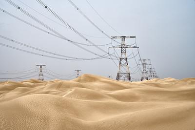 desert pylons
