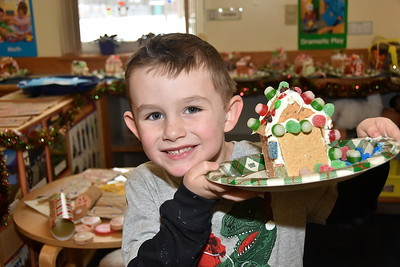 Check Out Our Gingerbread Houses photos by Gary Baker