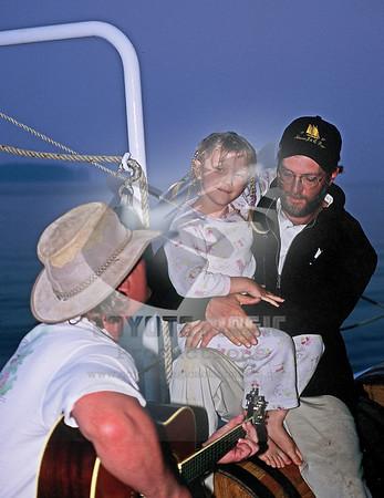 2003 - Jon Michaels on the schooner J&E Riggin - Rockland, ME
