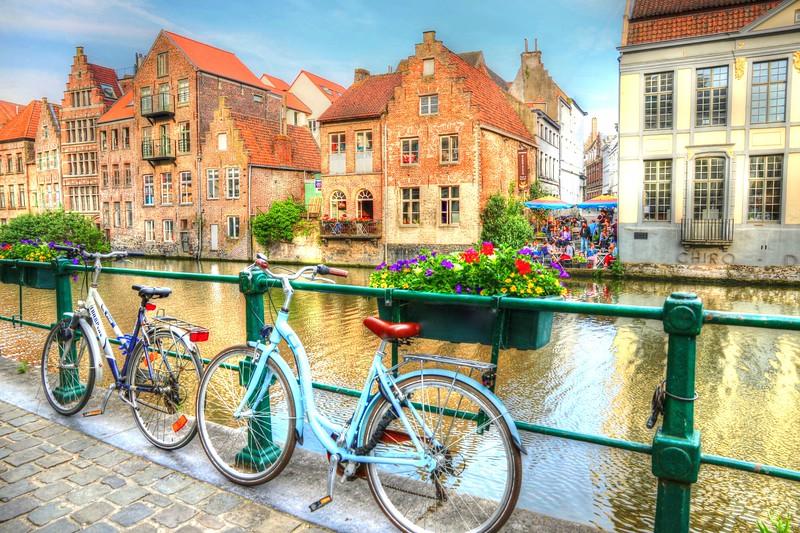 Canals of Ghent, Belgium