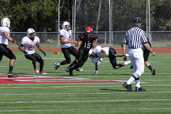 09-25-2010 HS Football Bergenfield 21 at Northern Highlands 36
