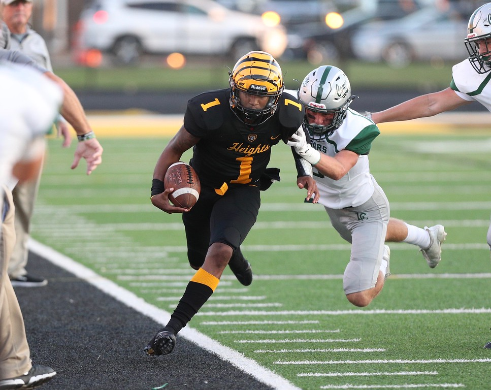 . Tim Phillis - The News-Herald Lake Catholic vs. Cleveland Heights, Sept. 14.