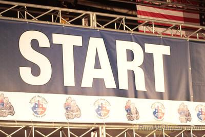 Wheelchair & Handcycle Start - 2012 Detroit Free Press Marathon