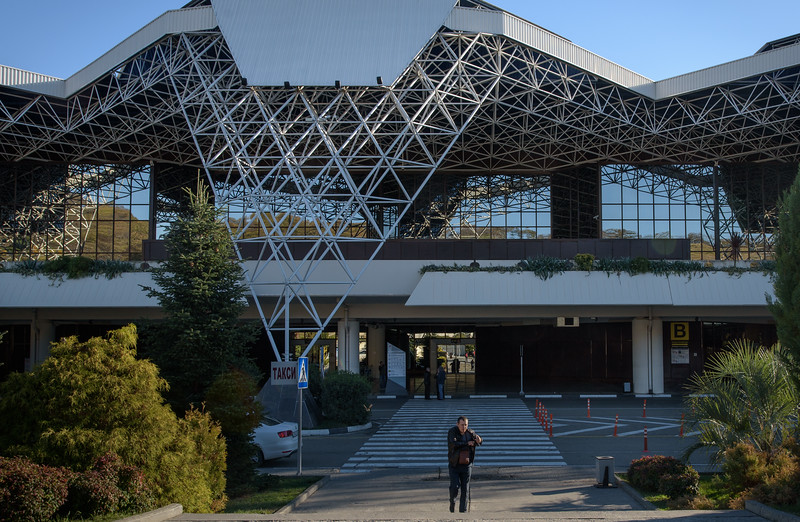 The new and beautiful Sochi airport