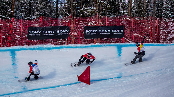 SnowboardCross  at Lake Louise - Race Day