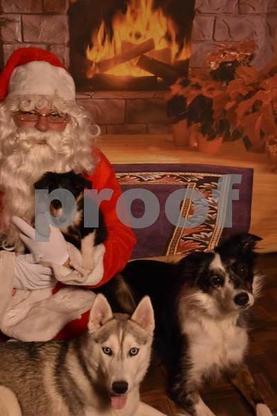 Launie K's Special Baby's Santa Pics.