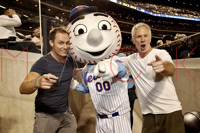 Queens, NY - July 23:  Celebrity Sightings at The Los Angeles Dodgers Vs. The New York Mets game, Queens, USA
