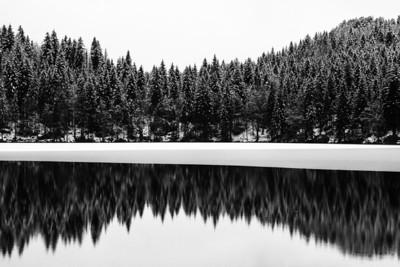 2014-01-Mangart Lakes and Mangart Saddle