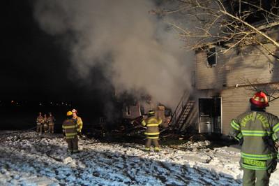 House Fire - Seneca Falls, NY - 1/9/18