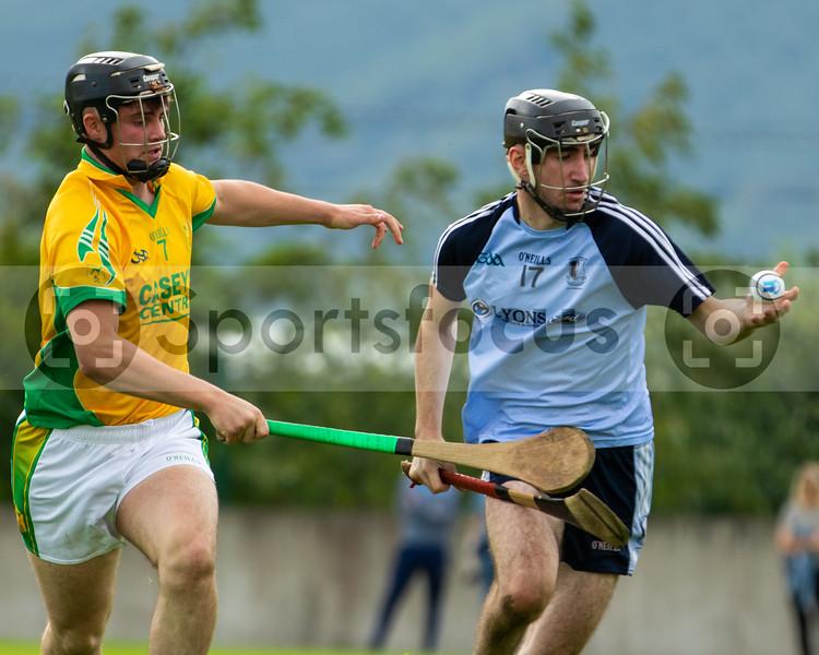 Toomevara's Jack Ryan and Nenagh Eire Og's A Healy
