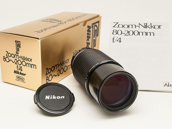 Nikon Nikkor 80-200 f4 AI-s